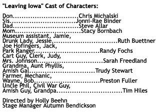 "Cast of ""Leaving Iowa"""
