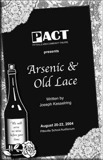 """Arsenic & Old Lace"" poster"