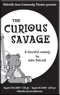 """The Curious Savage"" poster"